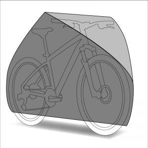 Housse de protection vélo