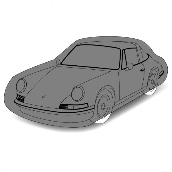 Housse de protection sur mesure voiture coupé