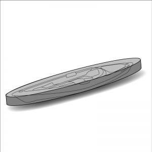 Housse de protection sur mesure kayak