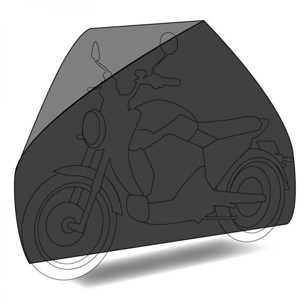 Housse de protection sur mesure extérieur pour deux roue