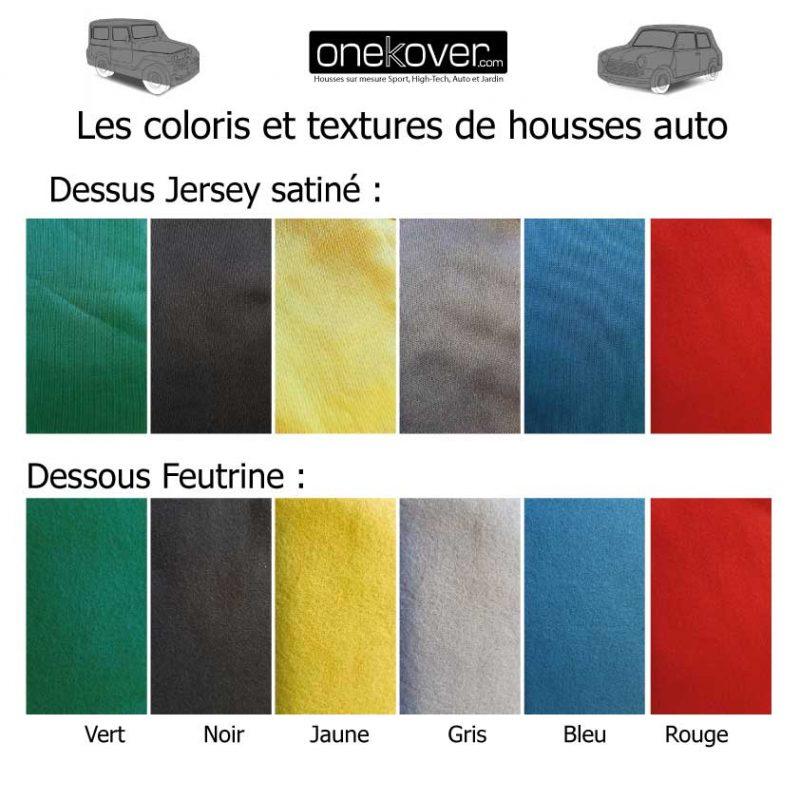 Coloris et textures housses OneKover