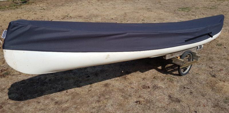 housse sur mesure canoé