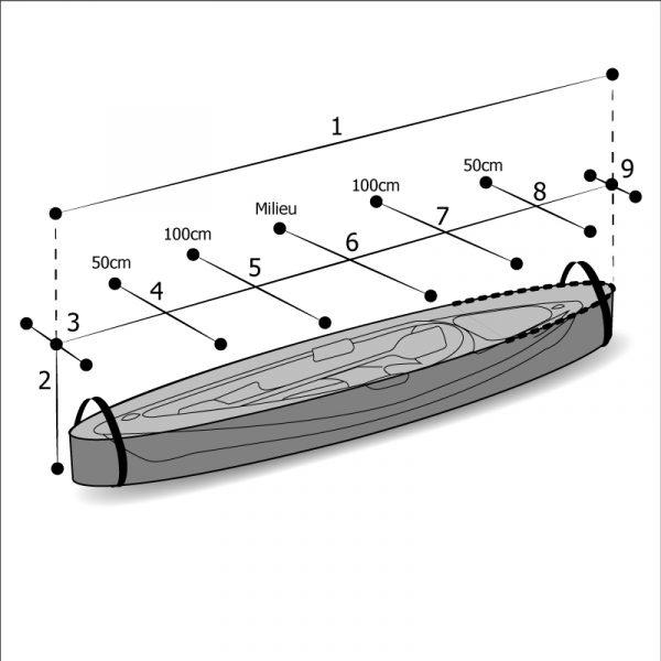 Sac sur mesure kayak