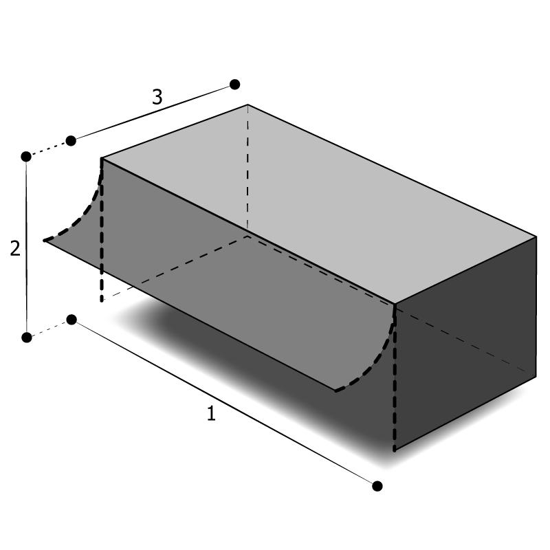 Housse rectangulaire avec ouverture