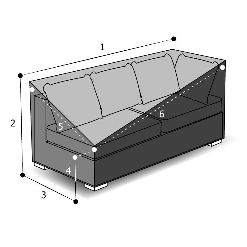 housse sur mesure canapé lit