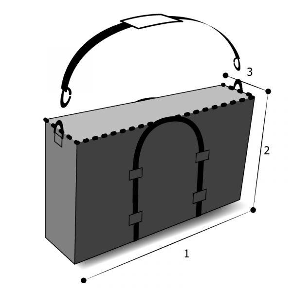 sac rectangulaire